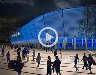 Propuesta Estadio Universidad de Chile.